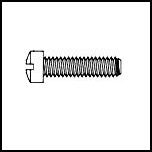 Slotted Fillister Machine Screw