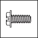 Slotted Washer Hex Bolt