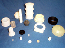 Custom Plastic Screw Machined Products